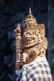 Statue of the Mythical Balinese Barong Creature Stock Photography