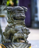 Statue of a mythical creature Royalty Free Stock Images