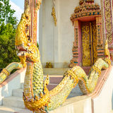 Statue of naga Royalty Free Stock Photography