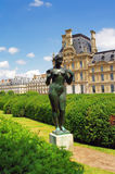 Statue of a naked woman, Paris Stock Image
