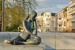 Statue of a naked woman Royalty Free Stock Photos