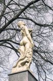 Statue of naked woman Royalty Free Stock Photo