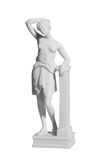 Statue of a naked woman Stock Images