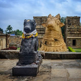 Statue of Nandi Bull Royalty Free Stock Images
