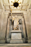 Statue of Napoleon inside Les Invalides royalty free stock photography