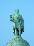Statue of Napoleon in place Vendome Stock Photos