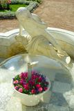Statue of narcissus in Peterhof Stock Photos