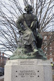 Statue of Nataniel Hawthorne, Salem, Massachusetts, USA Royalty Free Stock Photo