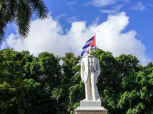 Statue of national Hero Jose Marti Stock Photos
