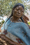 Statue, Native American Stock Image
