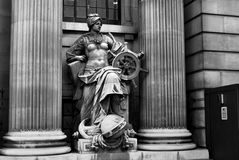 Statue of Navigation Stock Images