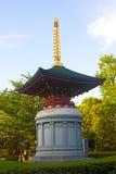 Statue near Awashimado Hall pavilion of Senso-ji Temple of Tokyo, Japan. Royalty Free Stock Photos