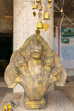 Statue near Big Buddha monument, Phuket, Thailand. Royalty Free Stock Images