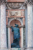 Statue near San Marco Campanile Royalty Free Stock Photo
