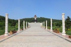 Statue nel giardino cinese Fotografia Stock Libera da Diritti