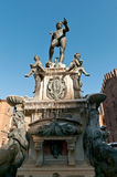 Statue of Neptune Bologna Italy Stock Image