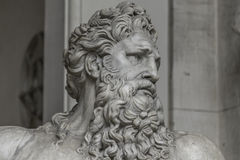 Statue of Neptune at Capitoline, Rome, Italy Stock Images