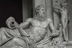 Statue of Neptune at Capitoline, Rome, Italy Royalty Free Stock Photo