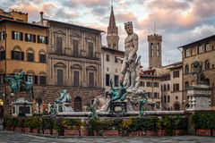 Statue of Neptune Stock Photography
