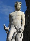 Statue of Neptune in Florence Royalty Free Stock Image