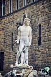 Statue of Neptune in Florence Stock Photography