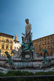 Statue of Neptune Florence Italy Stock Photography