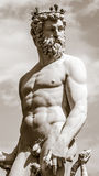 Statue of Neptune in Florence Stock Photo