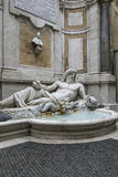 Statue of Neptune at fountain, Rome, Italy Stock Images