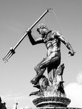 Statue of Neptune in Gdansk Royalty Free Stock Image