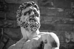 Statue of Neptune in Italy. Statue of Neptune, Piazza della Signoria, Florence Royalty Free Stock Image