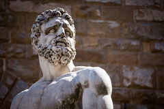 Statue of Neptune in Italy. Statue of Neptune, Piazza della Signoria, Florence Royalty Free Stock Images