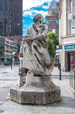 Statue of Neptune in Liverpool, UK Royalty Free Stock Images
