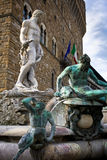 Statue of Neptune at the Piazza Della Signoria Stock Image
