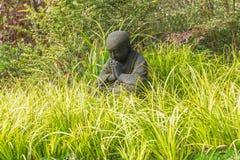 Statue nere del bambino nel parco di Wuxi Nianhuawan Immagine Stock Libera da Diritti