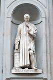 Statue of Niccolò Macchiavelli Stock Image