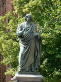 Statue of Nicolas Copernicus royalty free stock photos