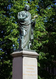 Statue Nicolas Copernikus Royalty Free Stock Photo