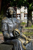Statue of Nicolaus Copernicus in Olsztyn Royalty Free Stock Photos