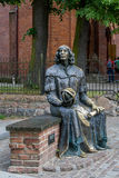 Statue of Nicolaus Copernicus Royalty Free Stock Photo