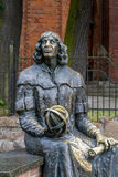 Statue of Nicolaus Copernicus Stock Images