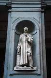Statue of Nicollo Macchiavelli Royalty Free Stock Photography
