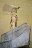 Statue of Nike of Samothrace Royalty Free Stock Photos