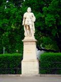 Statue of Niklas Graf. In front of the city hall of Vienna Stock Photo