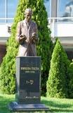 Statue of Nikola Tesla in Belgrade Stock Photo