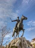Statue of Nikolaos Plastiras, Karditsa, Greece royalty free stock images