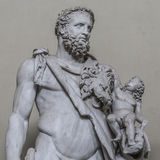 Statue of a nobel roman man, Rome, Italy Royalty Free Stock Photography
