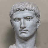 Statue of a nobel roman man, Rome, Italy Royalty Free Stock Image