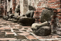Statue nocive di Buddha Fotografia Stock Libera da Diritti