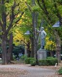 Statue of Noguchi Hideyo Royalty Free Stock Images