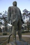 Statue of Norton de Matos, Huambo, Angola. Gunned statue of portugues governator in Angola, Norton de Matos Stock Images